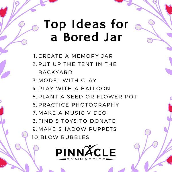Top Ideas for a Bored Jar