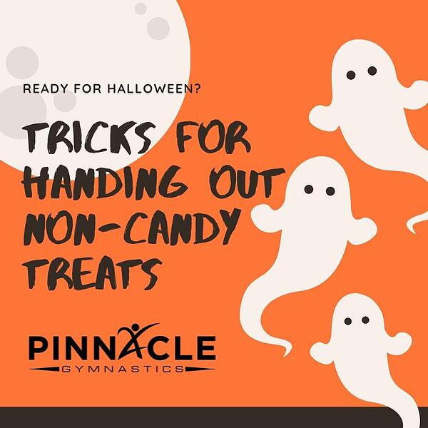 Tricks for handing out non-Candy Treats