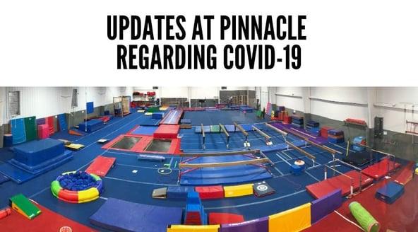 Updates at Pinnacle Regarding COVID-19