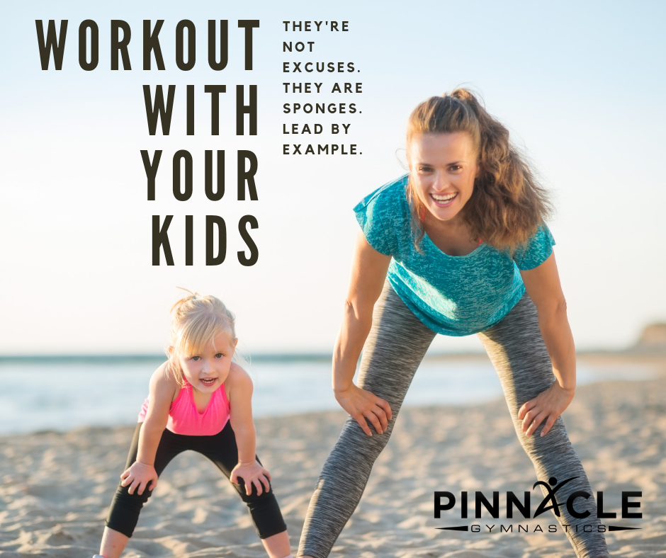 WORKOUT With Your Kids