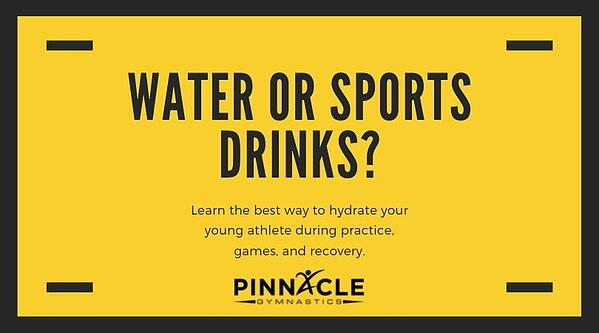 Water or Sports Drinks_