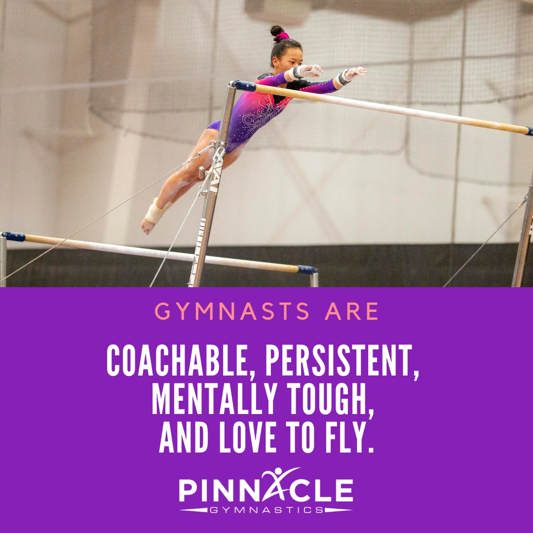 coachable, persistent, mentally tough, and love to fly.