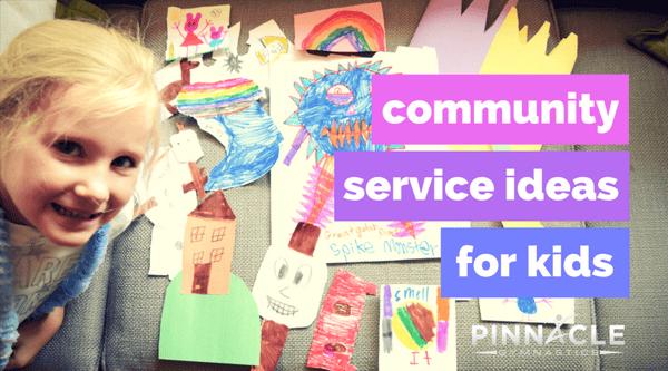 community service ideas for kids-2