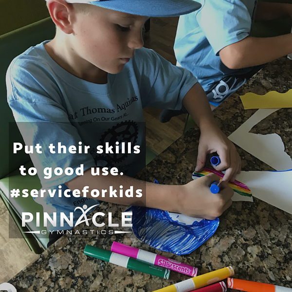 community service ideas for kids