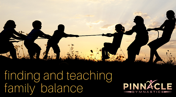 finding and teaching family balance
