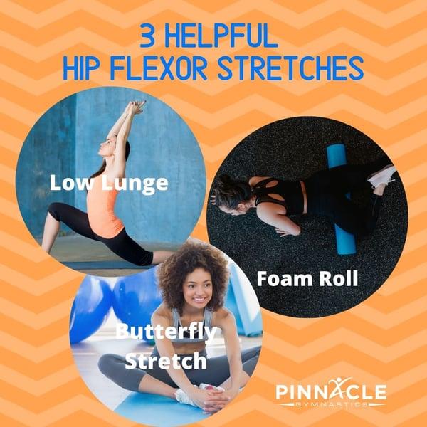 helpful hip flexor stretches
