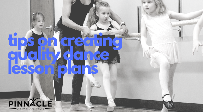 tips on creating quality dance lesson plans