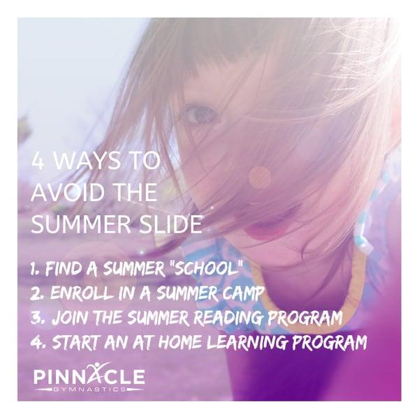 ways to avoid the summer slide