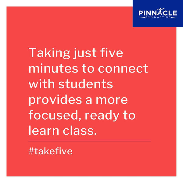 ways to connect with students