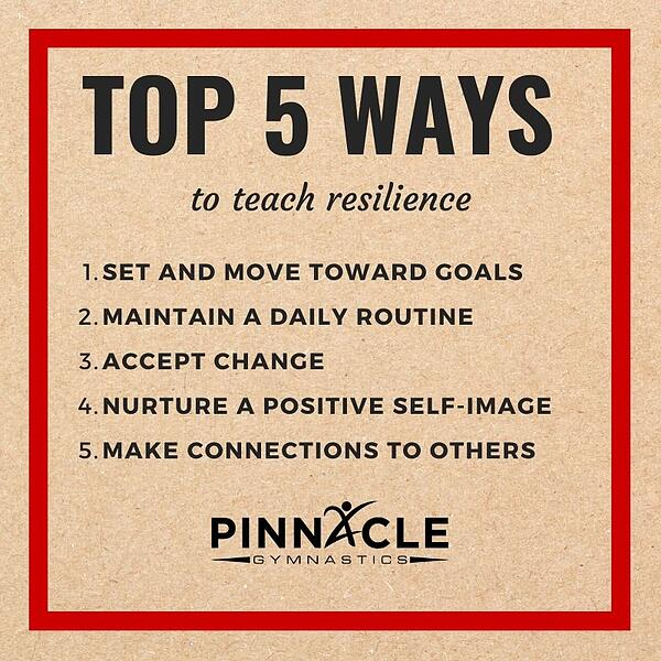 top 5 ways to teach resilience
