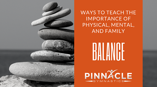 ways to teach the importance of balance at home