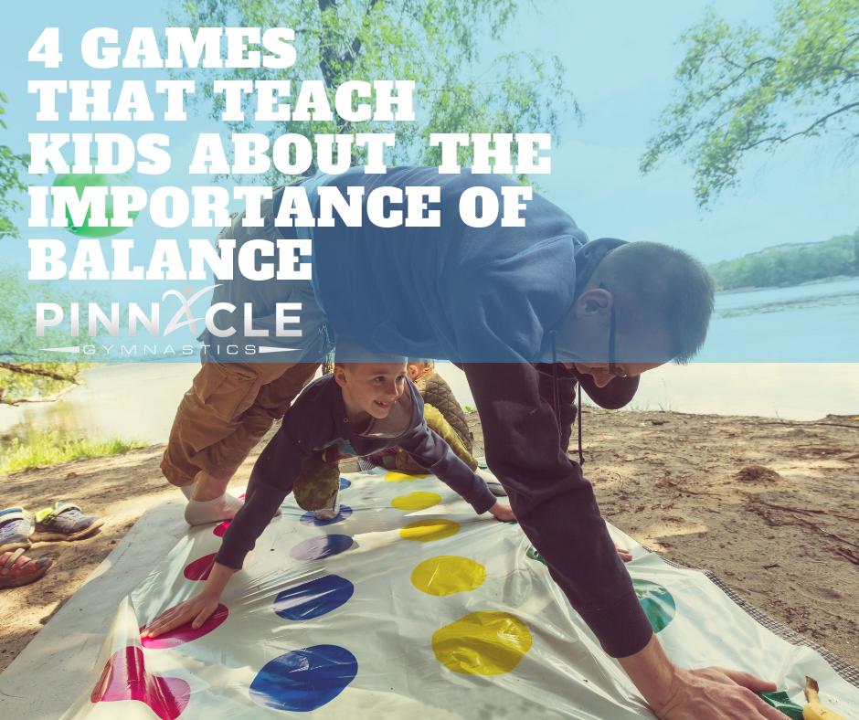 Teach Balance through games